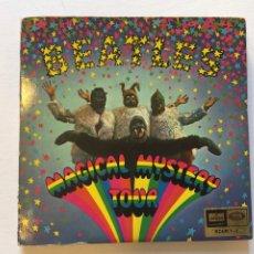 Discos de vinilo: MAGICAL MYSTERY TOUR, CON LIBRETO. BEATLES. SOLM 1-2 . EP'S. Lote 222419066