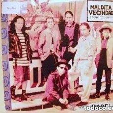 Discos de vinilo: MALDITA VECINDAD Y LOS HIJOS DEL 5º PATIO - MARE (SG) 1992. Lote 222419445