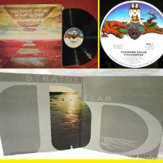 Discos de vinilo: TANGERINE DREAM - STRATOSFEAR 1975, 1º PRESS ORG EDT USA VIRGIN, DOBLE CARPETA, TODO IMPECABLE !. Lote 222420030