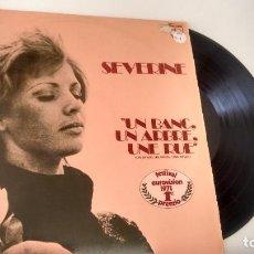 Discos de vinilo: L.P. ( VINILO) DE SEVERINE ( EUROVISION) AÑOS 70. Lote 222422542