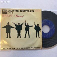 Discos de vinilo: THE BEATLES HELP, SOCORRO. DSOE 16675. SPAIN EP 1965. Lote 222427935