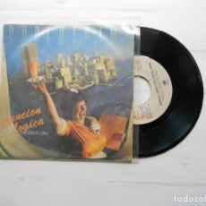 Discos de vinilo: SUPERTRAMP ?– CANCION LOGICA = THE LOGICAL SONG SINGLE 1979 VG++/VG+. Lote 222428372