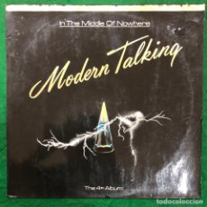 Discos de vinilo: MODERN TALKING - IN THE MIDDLE OF NOWHERE - LP 1986 RF-8718. Lote 222428527