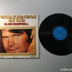 Discos de vinilo: 1010- GLEN CAMPBELL VOL 16 ESPAÑA LP VIN POR VG DIS VG. Lote 222428636