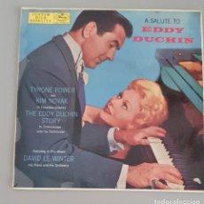 Discos de vinilo: BSO LA HISTORIA DE EDDY DUCHIN. Lote 222428662