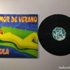 Discos de vinilo: 1010- PAULA AMOR DE VERANO MAXI SINGLE ESPAÑA VIN POR VG+ DIS NM. Lote 222428943
