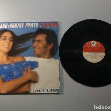 Discos de vinilo: 1010- AL BANO Y ROMINA POWER FELICIDAD ESPAÑA 1982 LP VIN POR VG DIS VG+. Lote 222429222
