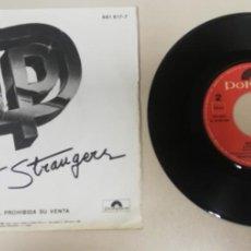 """Discos de vinilo: 1020- DEEP PUERPLE PERFECT STRANGERS - VIN 7"""" POR G+ DIS NM PROMO. Lote 222429340"""