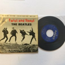 Discos de vinilo: THE BEATLES. TWIST AND SHOUT. SPAIN 1963 EP. TASTE OF HONEY; DO YOU WANT TO KNOW.. Lote 222429432