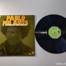 Discos de vinilo: 1010- PABLO MILANES LA VIDA NO VALE NADA ESPAÑA 1976 LP VIN POR VG+ DIS VG+. Lote 222429516