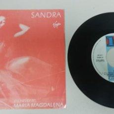 """Discos de vinilo: 1020- SANDRA - VIN 7"""" POR G+ DIS G PROMO. Lote 222429853"""