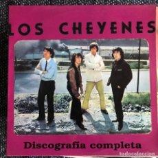 Discos de vinilo: CHEYENES - DISCOGRAFÍA COMPLETA - HISTORIA DE LA MÚSICA POP ESPAÑOLA - LP COCODRILO 1993. Lote 222430698