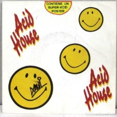 Discos de vinilo: ACID HOUSE -PARTY - SINGLE. Lote 222430770