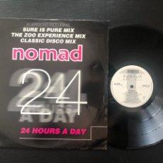 Discos de vinilo: NOMAD ?– 24 HOURS A DAY. Lote 222433806