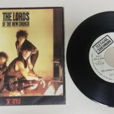 "Discos de vinilo: 1020- THE LORDS OF THE NEW CHURCH - VIN 7"" POR VG DIS VG+. Lote 222434942"