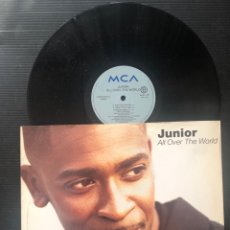 Discos de vinilo: JUNIOR ?– ALL OVER THE WORLD. Lote 222435480