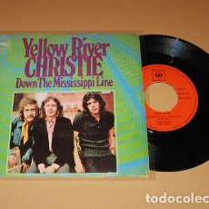 Discos de vinilo: CHRISTIE - YELLOW RIVER - SINGLE - 1970. Lote 222435950