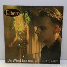 Discos de vinilo: ELBERN ?– DER WIND HAT MIR EIN LIED ERZÄHLT - 1995. Lote 222437048