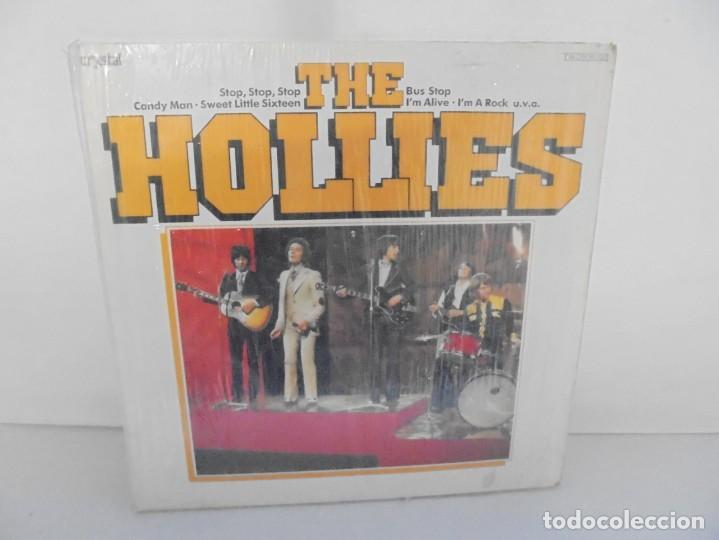 THE HOLLIES. BUS STOP. LP VINILO. DISCOGRAFIA CRYSTAL. EMI. VER FOTOGRAFIAS ADJUNTAS (Música - Discos - LP Vinilo - Pop - Rock - New Wave Extranjero de los 80)