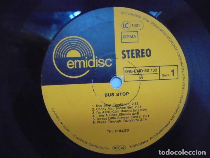 Discos de vinilo: THE HOLLIES. BUS STOP. LP VINILO. DISCOGRAFIA CRYSTAL. EMI. VER FOTOGRAFIAS ADJUNTAS - Foto 4 - 222437052