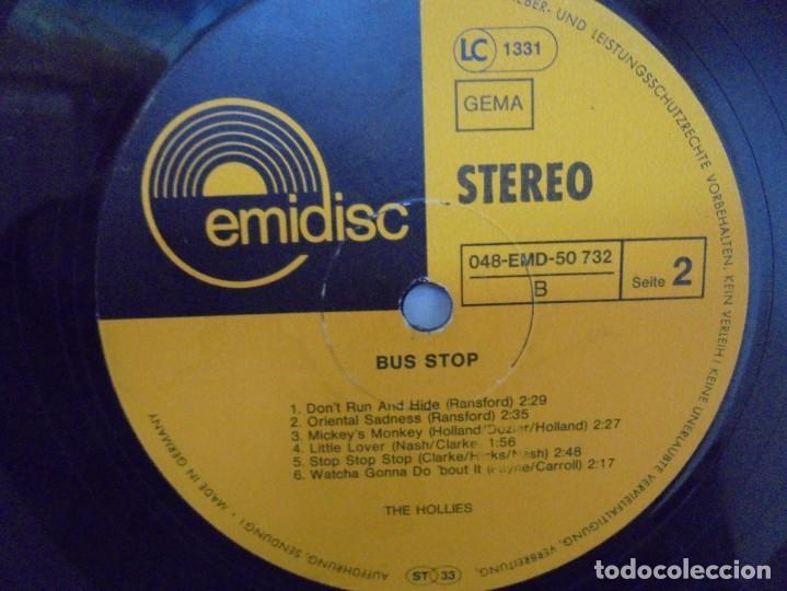 Discos de vinilo: THE HOLLIES. BUS STOP. LP VINILO. DISCOGRAFIA CRYSTAL. EMI. VER FOTOGRAFIAS ADJUNTAS - Foto 6 - 222437052