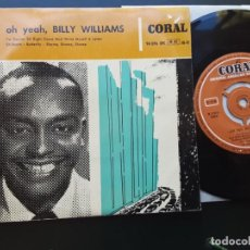 Discos de vinilo: EP BILLY WILLIAMS, OH YEAH! I'M GONNA SIT DOWN AND WRITE MYSELF A LETTER, SH BOOM, BUTTERFLY +1. Lote 222437452