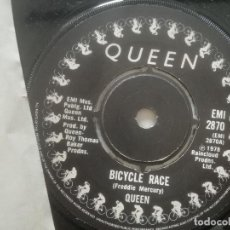 Discos de vinilo: QUEEN -BICYCLE RACE / FAT BOTTOMED GIRLS - SINGLE UK EMI 1978. Lote 222438227