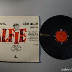 Discos de vinilo: 1010- ALFIE ORIGINAL MUSIC SONNY ROLLINS ORC OLIVIER NELSON LP VIN POR VG DIS NM. Lote 222438547