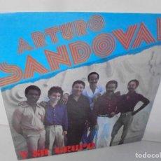 Discos de vinilo: ARTURO SANDOVAL Y SU GRUPO. LP VINILO. DISCOGRAFIA AREITO. VER FOTOGRAFIAS ADJUNTAS. Lote 222439618