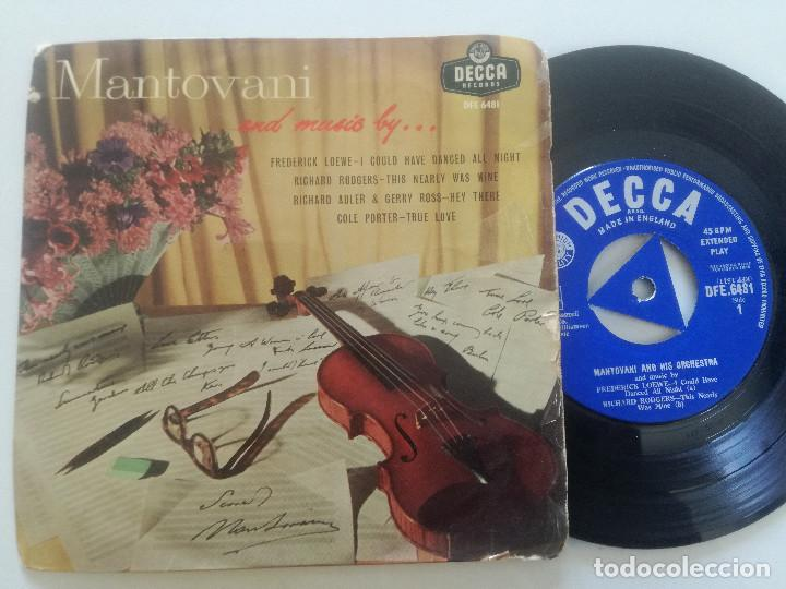 Discos de vinilo: MANOTOVANI - And Music By...- EP UK DECCA 1958 - Foto 1 - 222441156
