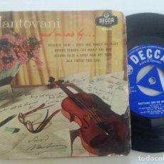 Discos de vinilo: MANOTOVANI - AND MUSIC BY...- EP UK DECCA 1958. Lote 222441156