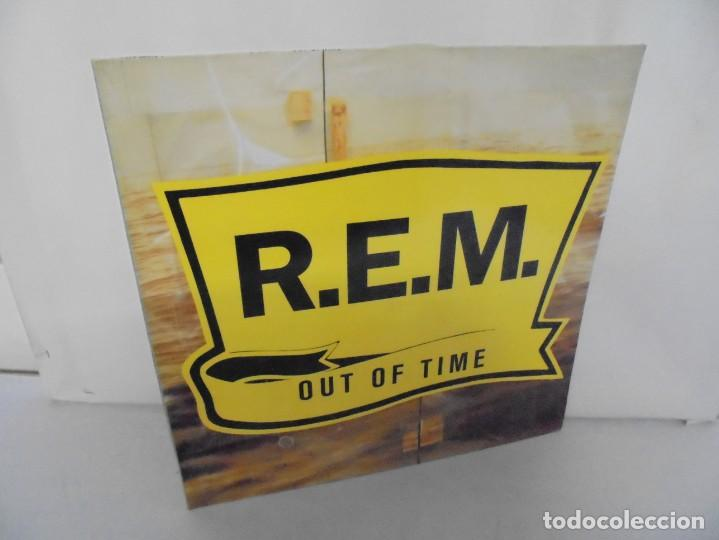R.E.M. OUT OF TIME. LP VINILO. WARNER BROS. PRODUCED BY SCOTT LITT. 1991. (Música - Discos - LP Vinilo - Pop - Rock Extranjero de los 90 a la actualidad)
