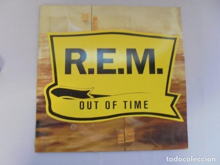 Discos de vinilo: R.E.M. OUT OF TIME. LP VINILO. WARNER BROS. PRODUCED BY SCOTT LITT. 1991. - Foto 2 - 222441801