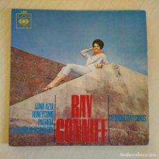 Discos de vinilo: RAY CONNIFF - LUNA AZUL (BLUE MOON) / PATRICIA / HONEYCOMB / BLUEBERRY HILL - EP CBS DE 1964. Lote 222441868