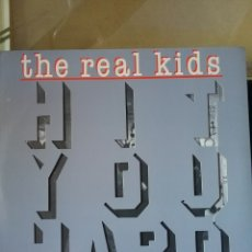 Discos de vinilo: THE REAL KIDS 1983 COPIA ORIGINAL NEW ROSE. Lote 222444260