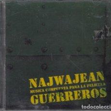 Discos de vinilo: NAJWA JEAN - BSO BANDA SONORA ORIGINAL DE LA PELICULA GUERREROS - CD. Lote 259709445