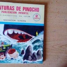 Discos de vinilo: AVENTURAS DE PINOCHO (2A PARTE ).PUBLICACIÓN INFANTIL.NARRACIÓN SONORA.. Lote 222446475