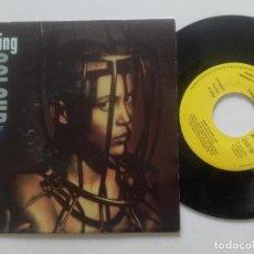 Discos de vinilo: LIVING COLOUR - LEAVE IT ALONE - SINGLE PROM0 ESPAÑA EPIC 1992. Lote 222446782
