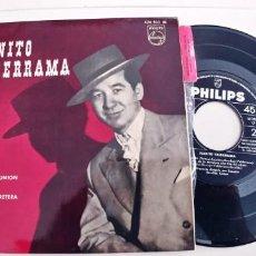 Discos de vinilo: JUANITO VALDERRAMA-EP EL EMIGRANTE +3-NUEVO. Lote 222450247