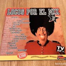Discos de vinilo: LOCOS POR EL MIX 2 (3 LP'S). Lote 222450750
