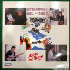 Discos de vinilo: ESTAMPAS DEL SUR - ASI ES MI TIERRA / LP PASARELA DE 1989 RF-8721 , PERFECTO ESTADO. Lote 222453830