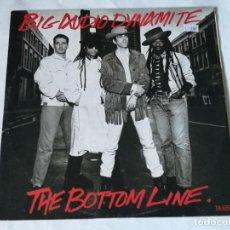 Discos de vinilo: BIG AUDIO DYNAMITE - THE BOTTOM LINE - 1985. Lote 222454283