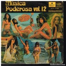 Discos de vinilo: LOS DIABLOS / LOS AMAYA / DYANGO / LODI - MÚSICA PODEROSA VOL. 12 - EP - ED. BOLIVIA. Lote 222454728