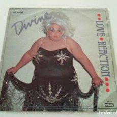 Discos de vinilo: DIVINE - LOVE REACTION. Lote 222455936