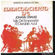 Discos de vinilo: MINICONCIERTO Nº 3 - STRAUSS - SINGLE 1971. Lote 222455973