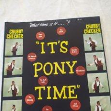 Discos de vinilo: CHUBBY CHECKER IT'PONY TIME. Lote 222456355