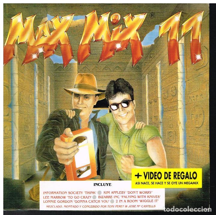 MAX MIX 11 - RADIO VERSION MEGAMIX - SINGLE 1991 - PROMO - BUEN ESTADO (Música - Discos - Singles Vinilo - Pop - Rock Extranjero de los 90 a la actualidad)