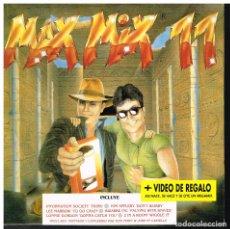 Discos de vinilo: MAX MIX 11 - RADIO VERSION MEGAMIX - SINGLE 1991 - PROMO - BUEN ESTADO. Lote 222456398