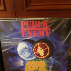 Discos de vinilo: PUBLIC ENEMY / FEAR OF A BLACK PLANET / NOT ON LABEL. Lote 222456700