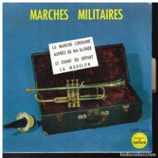 Discos de vinilo: MARCHES MILITAIRES - EP - ED. FRANCIA. Lote 222457003